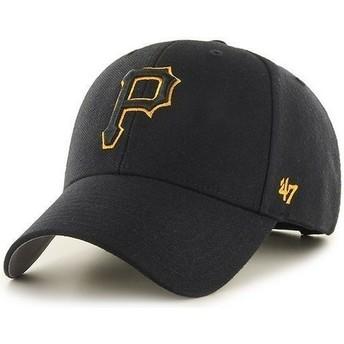 Cappellino visiera curva nero di Pittsburgh Pirates MLB di 47 Brand