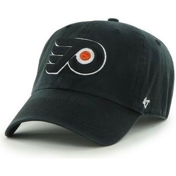 Cappellino visiera curva nero di Philadelphia Flyers NHL Clean Up di 47 Brand