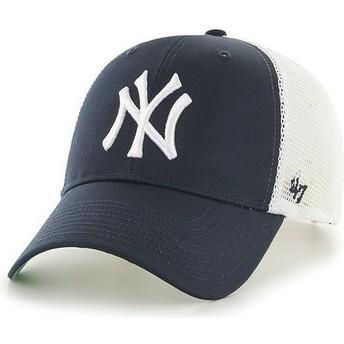 Cappellino trucker blu marino di MLB New York Yankees di 47 Brand