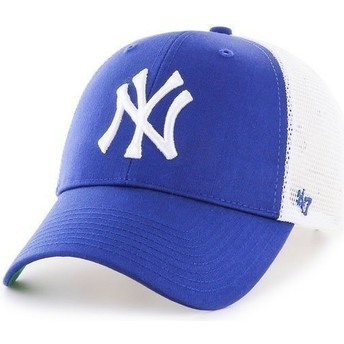 Cappellino trucker blu di MLB New York Yankees di 47 Brand