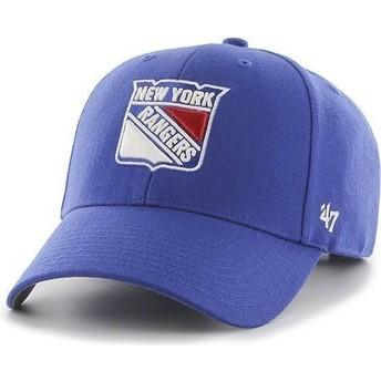 Cappellino visiera curva blu di NHL New York Rangers di 47 Brand