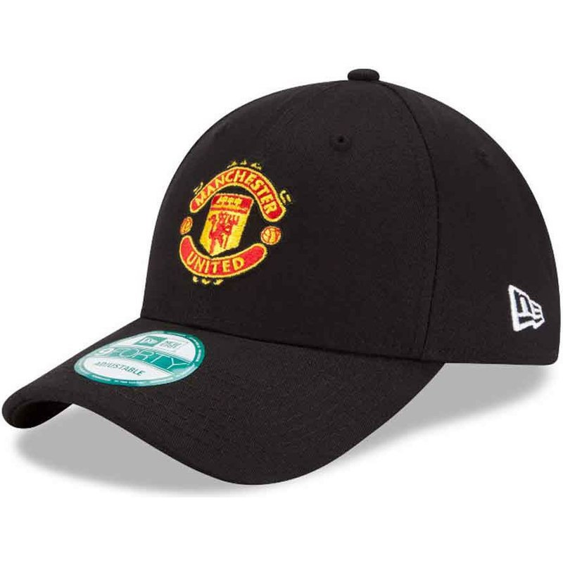 cappellino-visiera-curva-nero-regolabile-9forty-essential-di-manchester-united-football-club-di-new-era